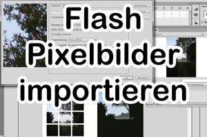 bitmap importieren video tipp flash